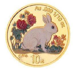 彩金兔1/10盎司