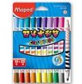 马培德(Maped)CH847010 双头水彩笔(10支装 20色)