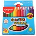 马培德(Maped)AA861013 彩色蜡笔(24色)
