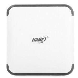 华美(HAME)A10 10400mAh大容量移动电源 充电宝(珍珠白)